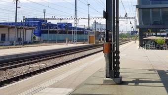 Zugsausfall am Bahnhof Solothurn. (Archiv)