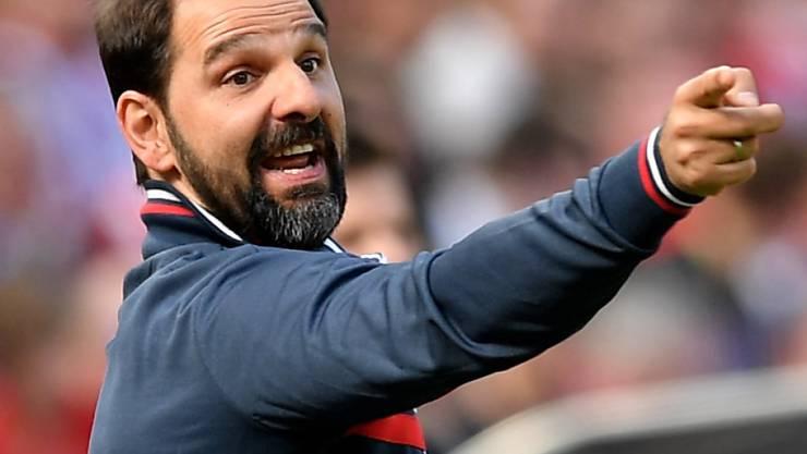 Stefan Ruthenbeck wird den 1. FC Köln nur noch bis Ende Saison trainieren