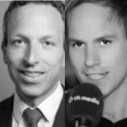 Patrik Müller und Samuel Schumacher