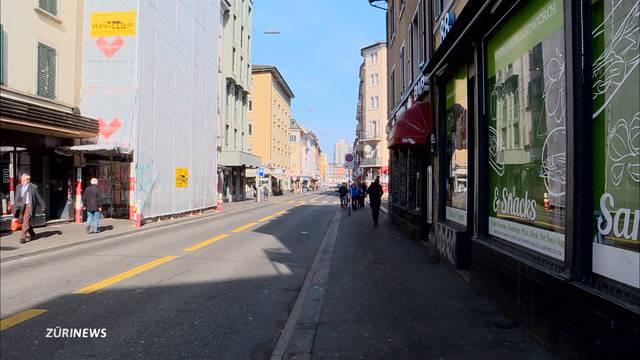 Langstrasse wird teilweise autofrei