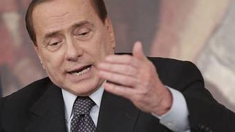 Der italienische Ministerpräsident Silvio Berlusconi (Archiv)