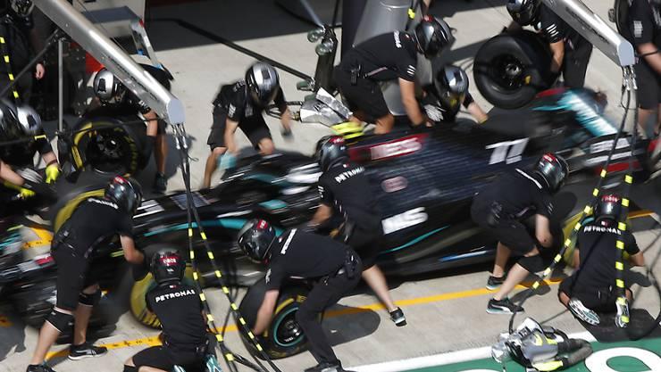 Auch das Mercedes-Team ist vom Coronavirus betroffen