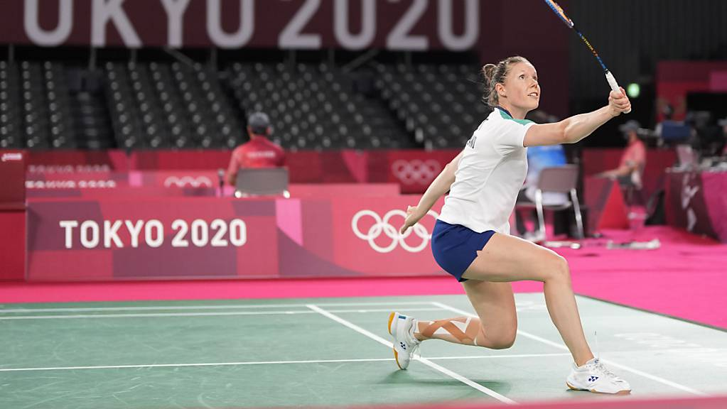 Sabrina Jaquet, die langjährige Schweizer Nummer 1 im Badminton, beendet ihre Karriere mit einer Niederlage