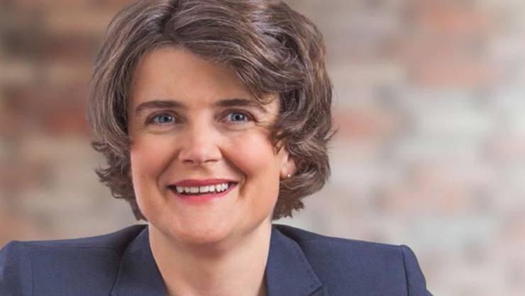 Regierungskandidatin Kathrin Schweizer durfte für das Beispielbild herhalten.