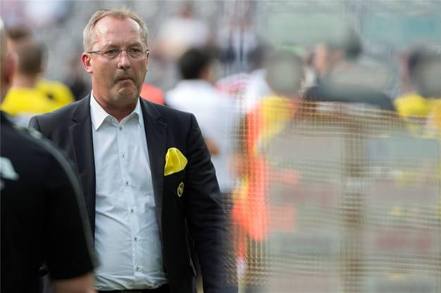 Am Dienstag von Urs Siegenthaler abgesägt: Sportchef Fredy Bickel.key