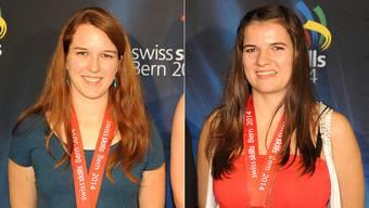 Leslie Rebmann und Melanie Höchberger arbeiten beide im Kanton Solothurn.