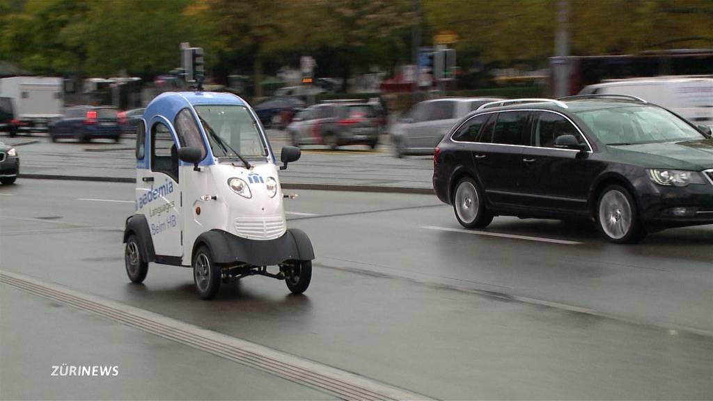 TeleZüri probt brandneue Elektrofahrzeuge für Zürich