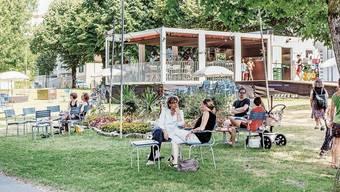 Seit 2003 gehört die «Schwanbar» am Philosophenweg zum Aarauer Sommer mit dazu.