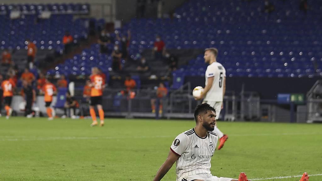 Trotz guten Leistungen des FC Basel: Die Schweizer Klubs sind im Europacup am Boden