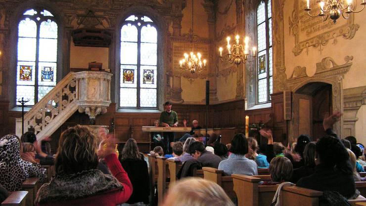 Das Konzert von Andrew Bond in Aarau begeisterte die Zuhörer
