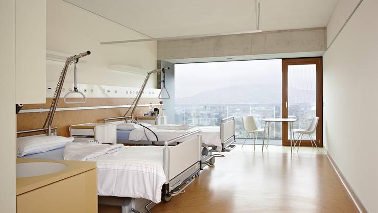 In einer zweiten Phase erfolgt der Umzug in das neue Reha-Gebäude mit 120 Betten auf dem Triemli-Areal. (Archivbild)