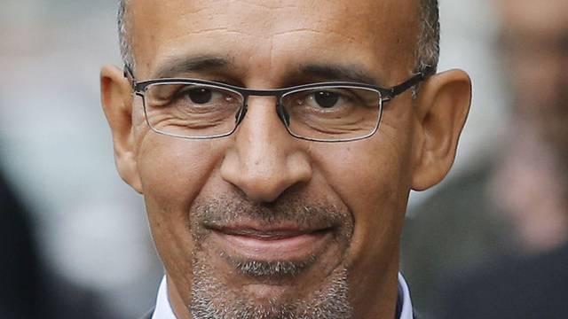 Der neue Chef der französischen Sozialisten, Harlem Désir