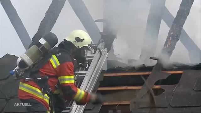 Vollbrand in Lüterkofen