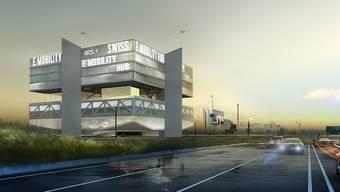 Swiss E-Mobility Hub
