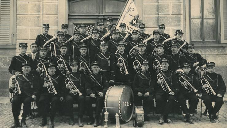 Dieses Foto der «Eintracht Windisch» ist sehr alt – es stammt aus dem Jahr 1929. ZVG