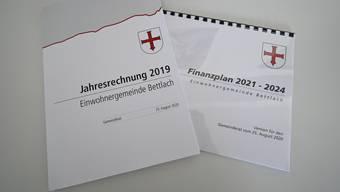 Die beiden Dokumentationen Jahresrechnung und Finanzplan.