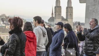 Russische Touristen in Zürich (Archiv)