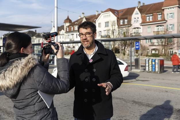Video-Interview mit dem Regisseur des Eröffnungsfilms der Filmtage am Bahnhof Solothurn.