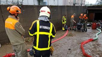 Während rund zwei Wochen waren insgesamt 620 Zivilschutzangehörige an den Aufräumarbeiten beteiligt.
