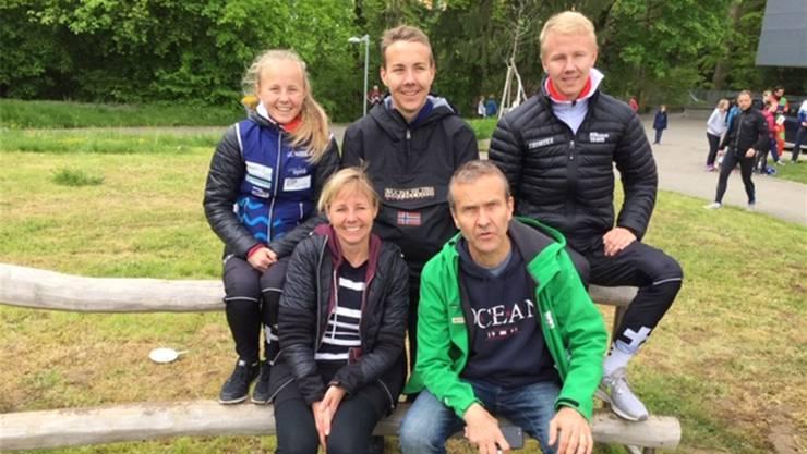 Die Familie Suter aus Rütihof.