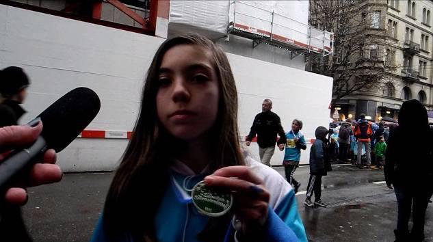 Silvesterlauf in Zürich: Interview mit Rebecca