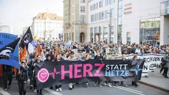 Anti-Pegida-Demo