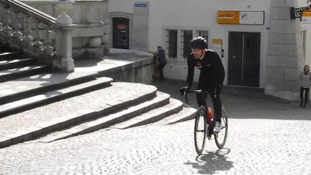 Am Mittwochmorgen fuhr Radprofi Fabian Cancellara durch die Solothurner Altstadt. Dieses Mal für Filmaufnahmen. An den Bike Days Anfang Mai wird hier das Rennen «Chasing Cancellara» stattfinden.