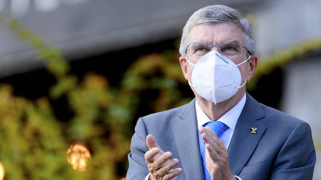 Thomas Bach als IOC-Präsident wiedergewählt