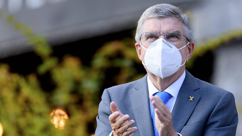 IOC-Präsident Thomas Bach bedankt sich für den Support.