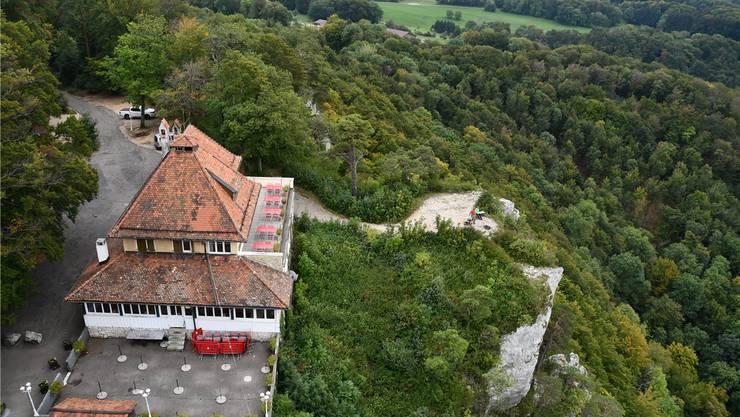 Lang gehegter Traum: Architekt Roman Caduff hat das Areal gekauft und prüft nun verschiedene Ausbaumöglichkeiten.