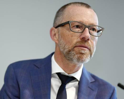 Heinz Huber, CEO von Raiffeisen.