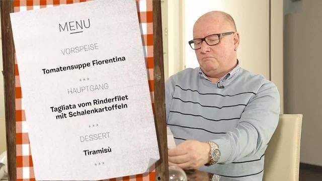 Heute kocht Hans Peter (54)