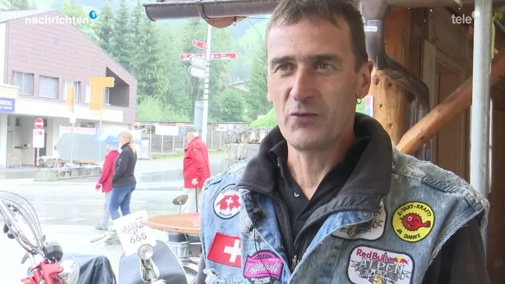 Töffli-Rundfahrt Alpenbrevet mal anders