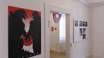 Steff Geissbühler im Rappaz Museum