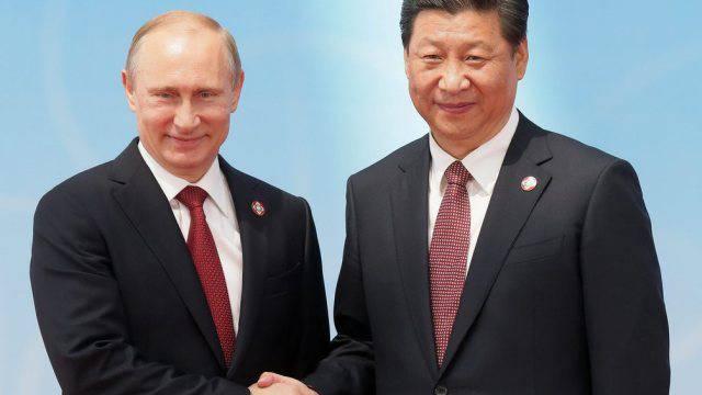 Präsidenten unter sich: Wladimir Putin (l.) und Xi Jinping