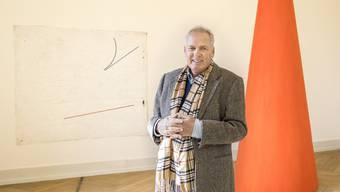 Niggi Messerli, Mitbegründer des Palazzo Liestal, sucht nach 40 Jahren nach einer Nachfolgeregelung.