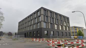 Das neue SWG-Gebäude ist bis auf die Umgebung fertig. Die SWG ist bereits umgezogen.