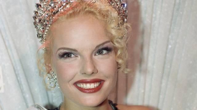 Stéphanie Berger wurde 1995 zur schönsten Schweizerin gekrönt.