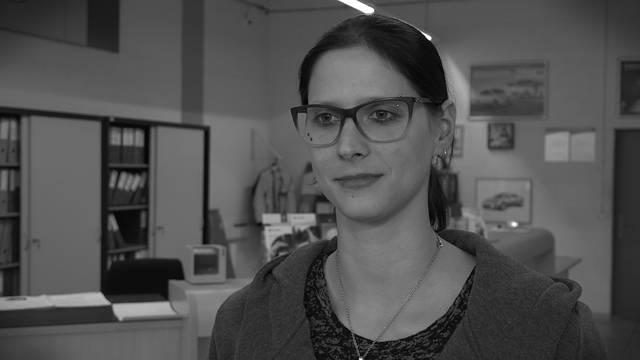 Cynthia Notter, Automechanikerin, zuhause in Hägglingen