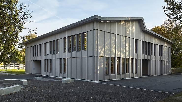Das Gönhard-Schulhaus in Aarau.