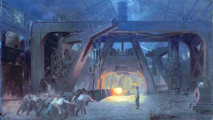 Arbeiter in einer Fabrik