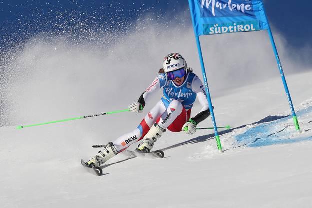 Die 19-jährige Camille Rast holt an der Junioren-WM im Riesenslalom die erste Schweizer Medaille.