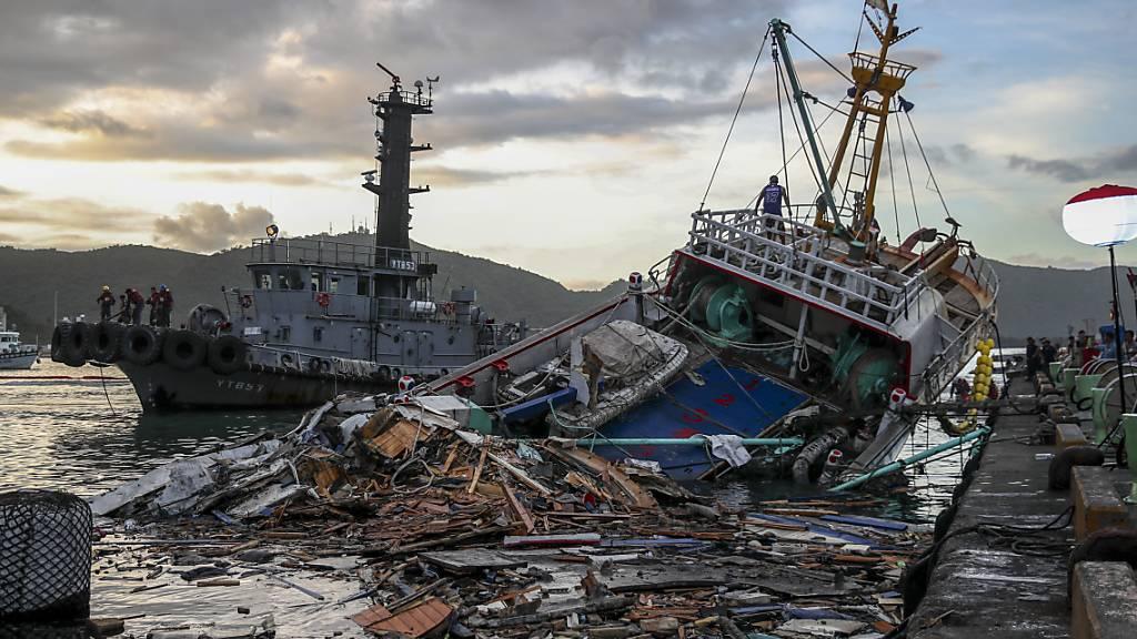 Nach Brückeneinsturz auf Taiwan - Letzter Vermisster tot geborgen