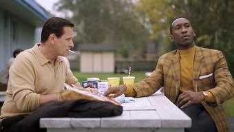 """Sie haben beide Chancen auf einen Oscar: Viggo Mortensen (links) und Mahershala Ali in """"Green Book""""."""