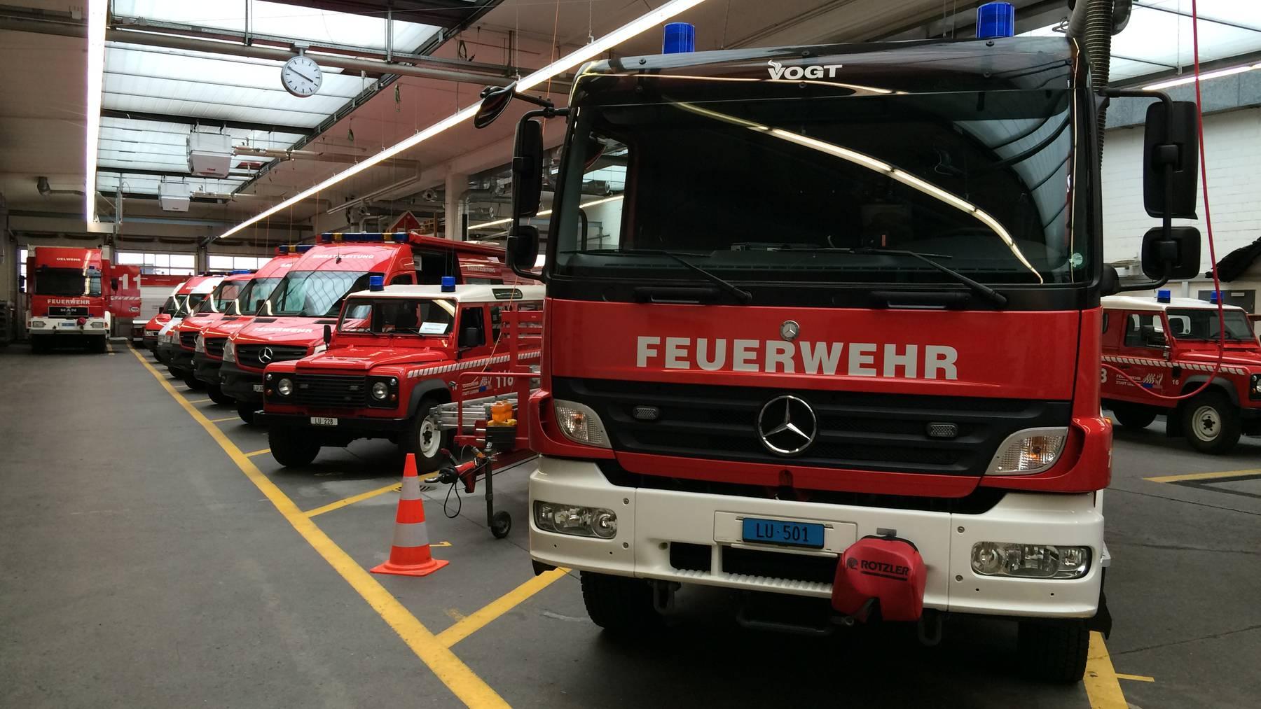Luzerner sollen höhere Feuerwehrabgabe bezahlen