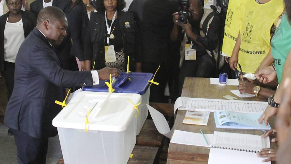 Mosambikaner wählen neuen Präsidenten und neues Parlament