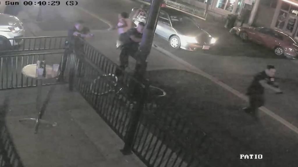 Täter von Dayton erschossen: Polizei veröffentlicht Überwachungsvideo