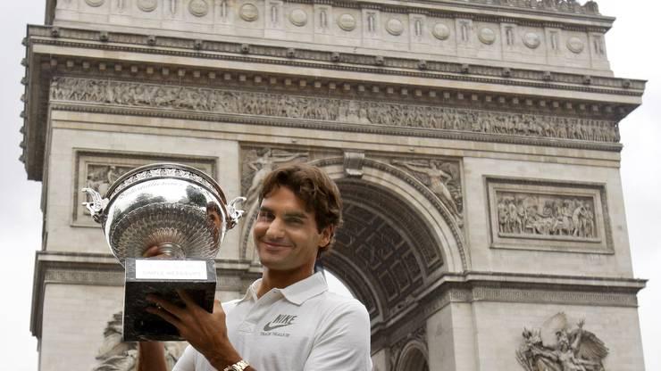2009 gewinnt Roger Federer die French Open zum ersten und einzigen Mal.