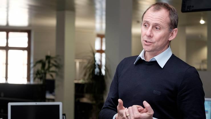 Deutliche Worte: Swissmed-CEO Andy Fischer.