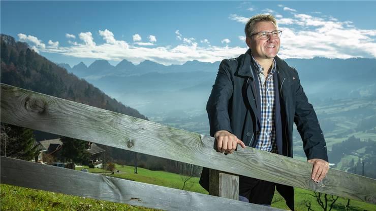 22. November 2018: Toni Brunner spricht zu Hause im Toggenburg über seinen Rücktritt. «Irgendwann wird auch der Politbetrieb in Bern repetitiv.»